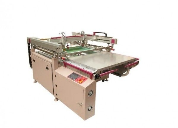 Fridge Glass Silk Screen Printing Machine With German  Gear Motor
